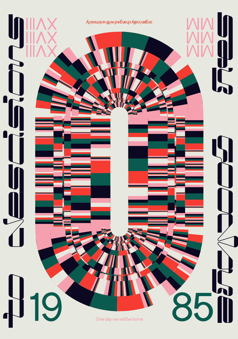 Typographic Poster featuring upcoming releases from Metis type foundry