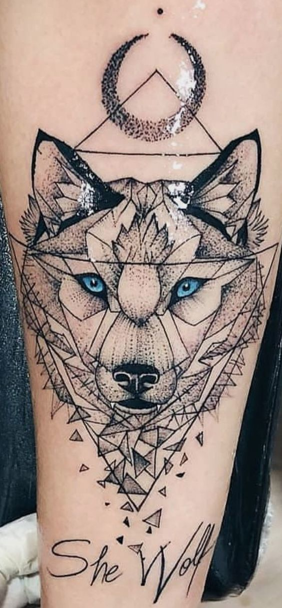 Wolf Sleeve Tattoo
