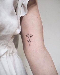 California Poppies – Little Flower Tattoos