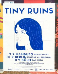 Tiny Ruins – found in Friedrichshain