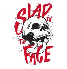 Slap in the face cover album