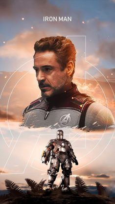 The Iron Man Tony Stark iPhone Wallpaper