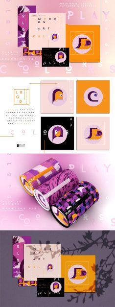 Branding collection – Play of colors