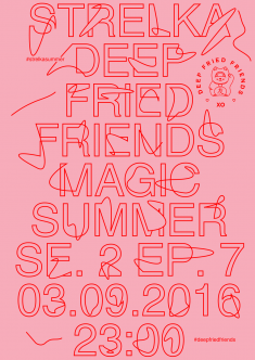 DEEP FRIED FRIENDS at Bar Strelka