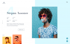 Model Agency Website Concept