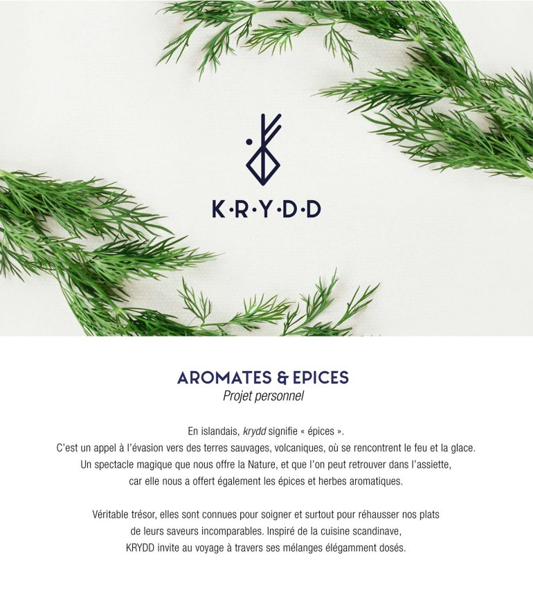 KRYDD – Herbs & Spices from the North