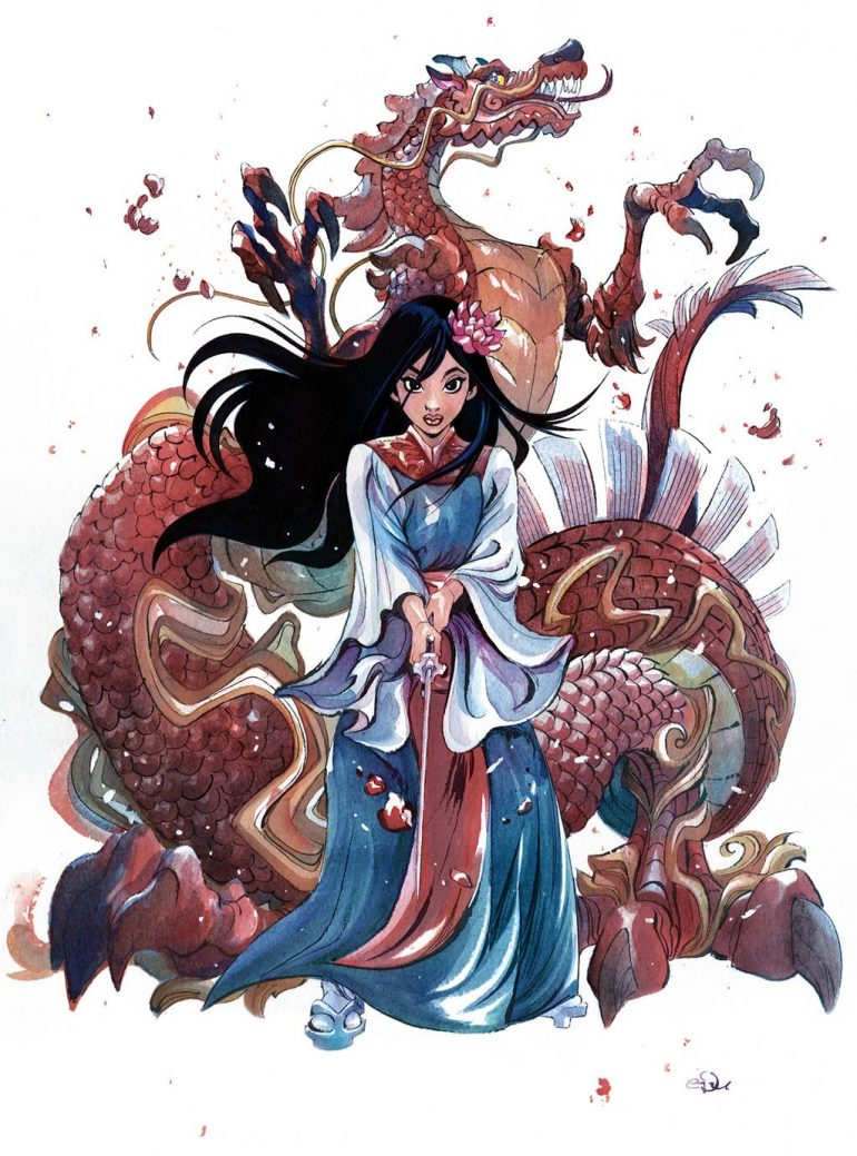 Mulan by eDufRancisco