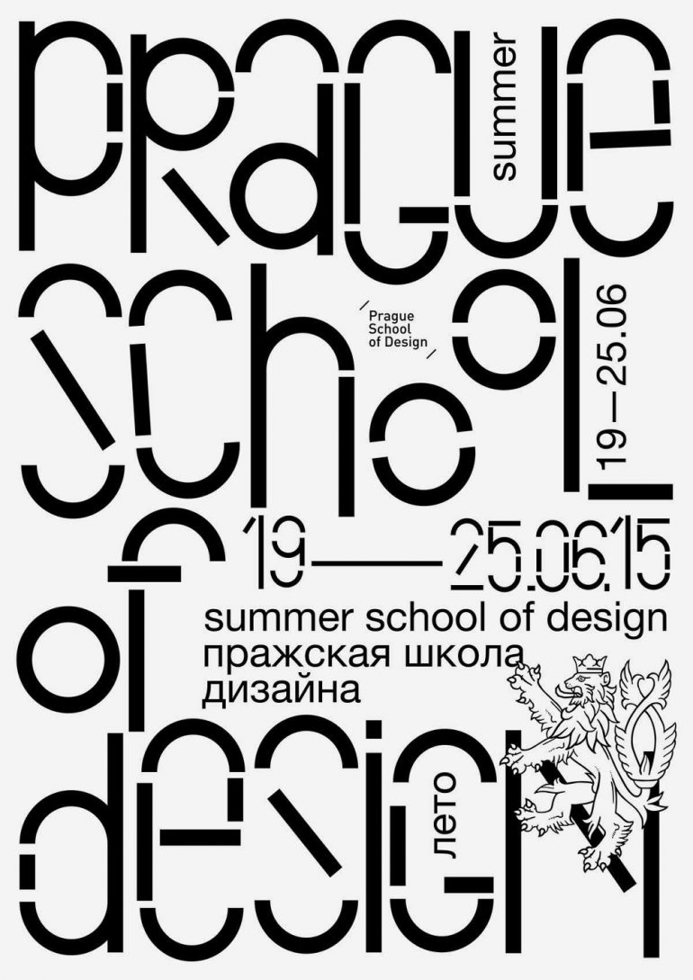 Identity for the Summer Prague School of Design 2015