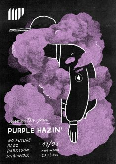 Monster Jinx – Purple Hazin