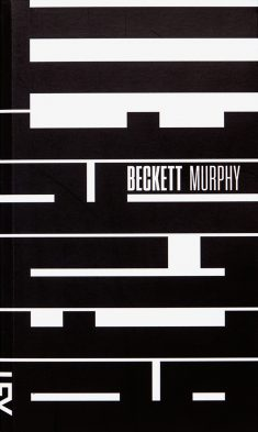 Becket/Murphy, book cover submitted by Cosac Naify and designed by Paulo André Chagas (2013)