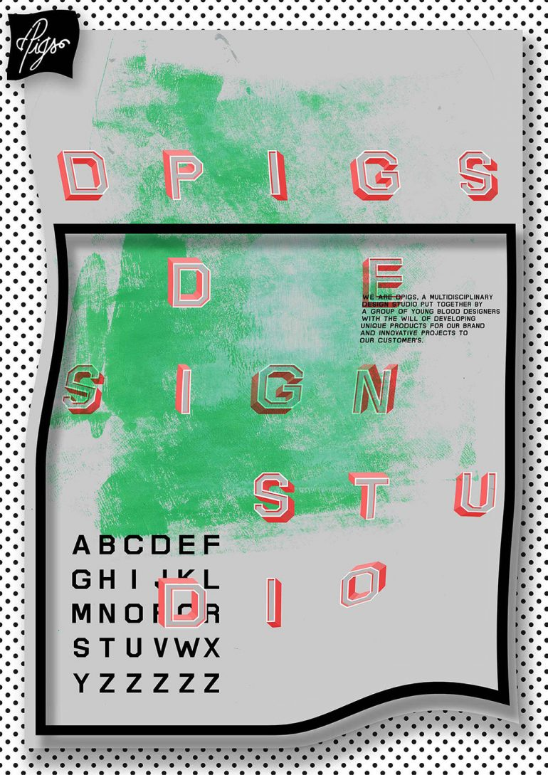 dPigs, poster submitted and designed by dPigs (2012)