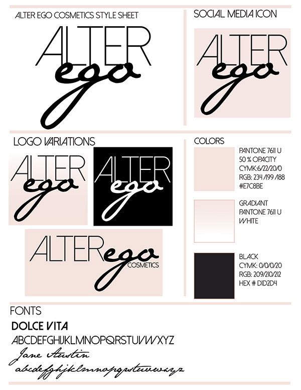 Alter Ego Cosmetics Logo