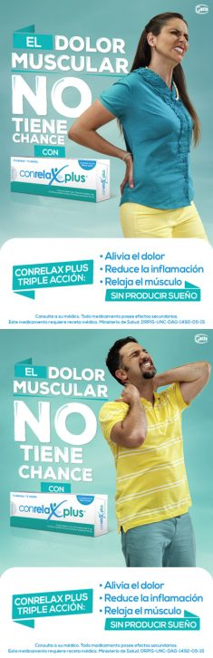Conrelax Plus – Muscle pain has no chance
