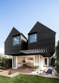 Dark Bungalow Transformed by Benn & Penna Architects into a Modern Home