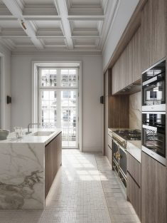 Contemporary classic: 182 m² apartment in Milan