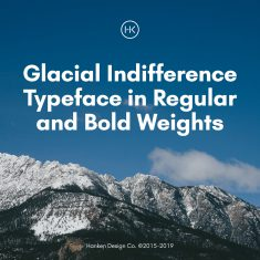 Glacial Indifference — Open Source Typeface