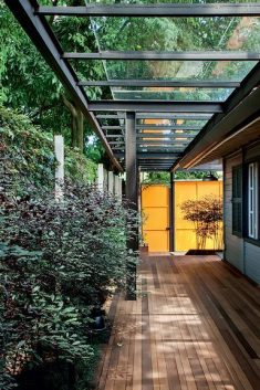 Glass cover goes from garage to gourmet kitchen