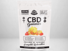 Illuminati CBD Gummies Label Design