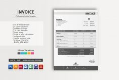 Invice ~ Stationery Templates