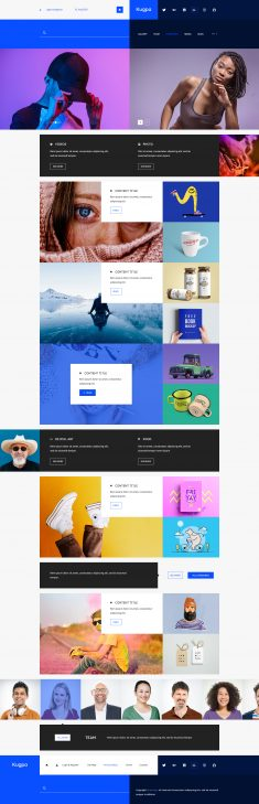 Kugpa – Multipurpose Template