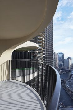 One-Bedroom Condo Unit Renovation in the Iconic Marina City Complex in Chicago
