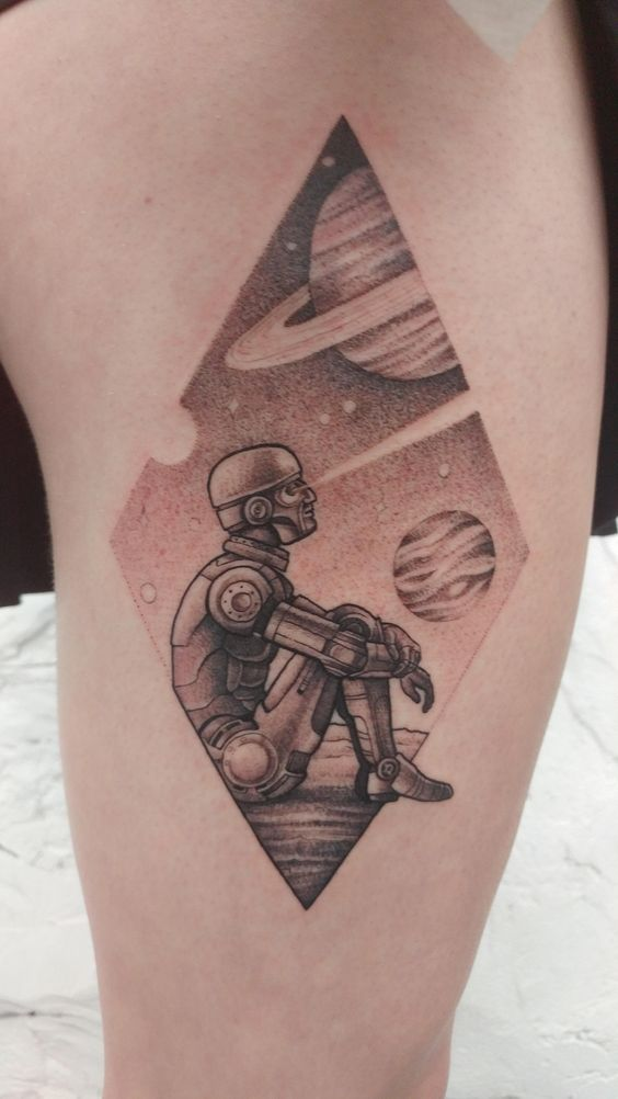 Asimov Android by Tiff Lee. Ink and Water, Toronto, Canada.