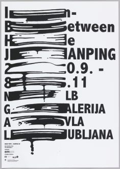 Poster, In Between He Jianping, 2012 | Objects | Collection of Cooper Hewitt, Smithsonian Design ...