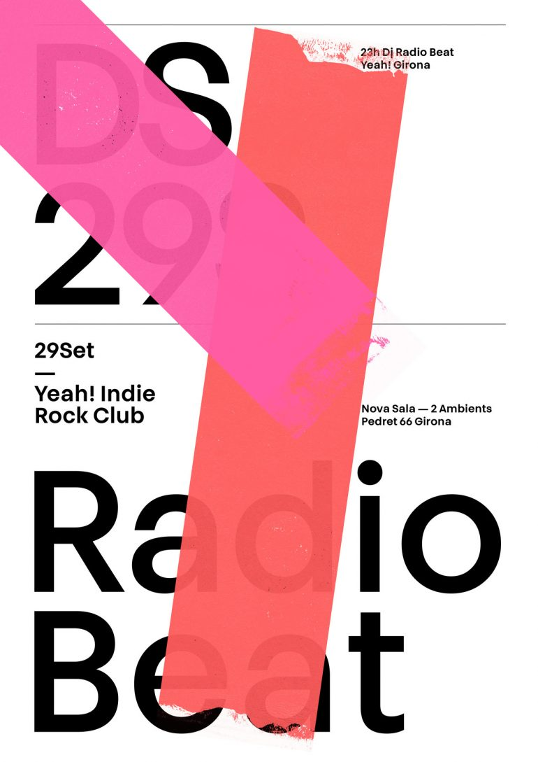 Radio Beat poster by Quim Marin Studio