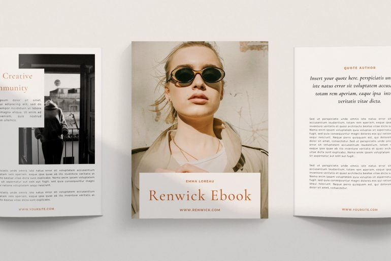 Renwick Ebook | Canva