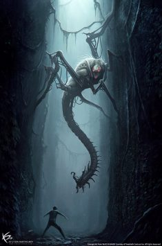 The Maze Runner – Creature Designs & Concept Arts