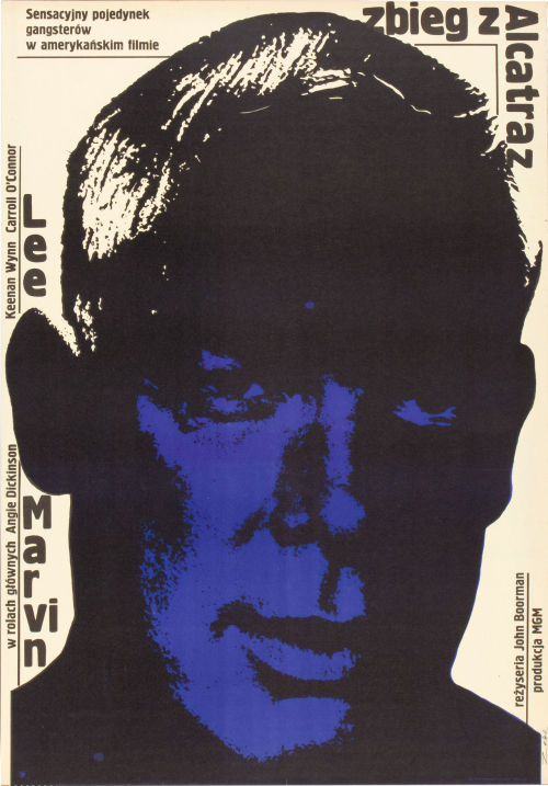Polish Poster for Point Blank (John Boorman, 1967)