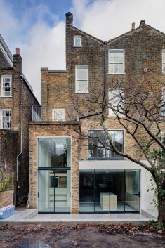 APA creates warehouse-inspired interior for London townhouse