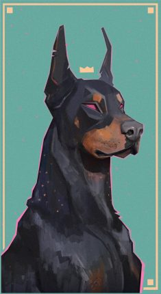 King Dobermann, François Bourdin