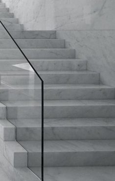 Solid marble stairs by Spanish Architects Suarez Santas – Enterprise Park in Arte Sacro, S ...