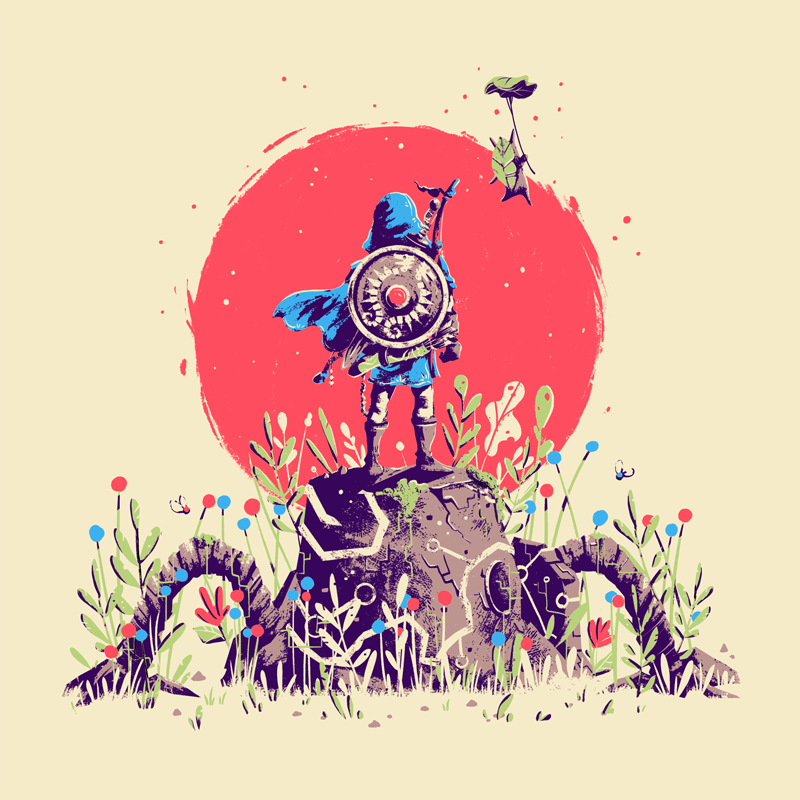 Breath of the Wild x Screenprint