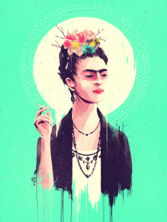 Frida Kahlo x Gauntlet Gallery