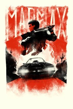 The Road Warrior / Screenprint