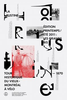 Rustine Canada – typographic posters