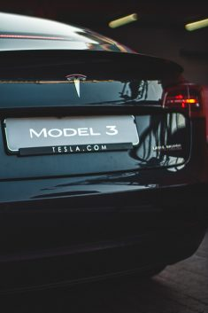 IAA Frankfurt: Tesla Model 3 – Back View