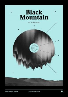Gig poster project – Black Mountain