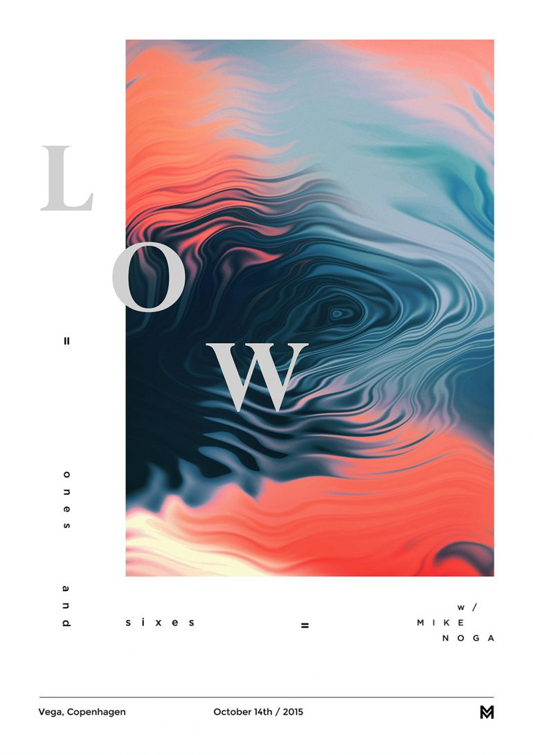 Gig poster project – LOW