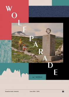 Gig poster project – Wolf Parade