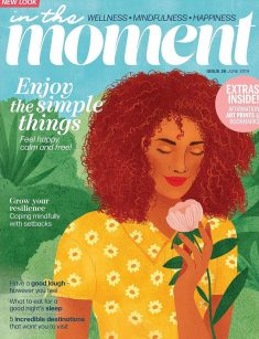 In The Moment Mag! – Cover Illustration of issue #26