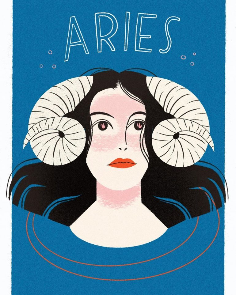 Aries – the passionate kind. ♈️