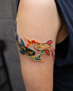 koi Fish Tattoo ???? ????