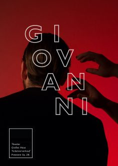 Poster design for the Don Giovanni Opera
