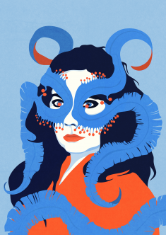 Björk for So Young magazine contest