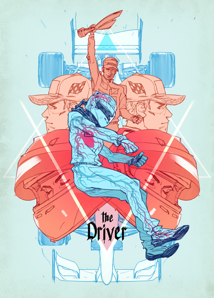 The Driver – Poster Design