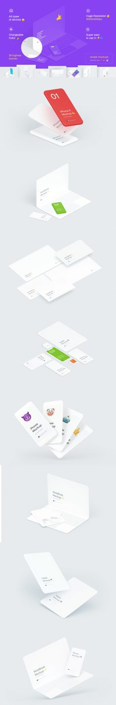Simple Mockups Bundle