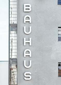 Bauhaus Concrete Apartment Building, Dessau-Roßlau, Germany